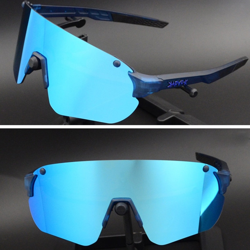Polarized Cycling Glasses Road Bike Cycling Eyewear Outdoor Sports  Riding Sunglasses UV400 Mountain Bicycle Goggles 3 Lens 2020 cycling sunglasses for men road bicycle glasses mountain riding protection polycarbonate goggles eyewear outdoor sports 2021
