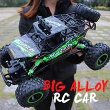 ZWN 1:12 / 1:16 4WD RC Car With Led Lights 2.4G Radio Remote Control Cars Buggy Off-Road Control Tru