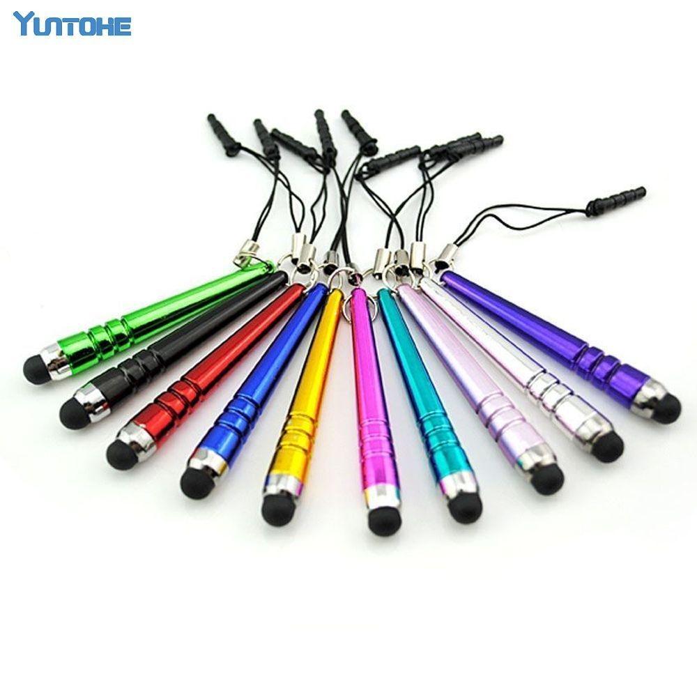 Bolígrafo táctil Stylus de 500 piezas de capacidad de béisbol para Iphone 11X8 7 6 5 Ipad Samsung Htc Ect, bolígrafo táctil para teléfono móvil