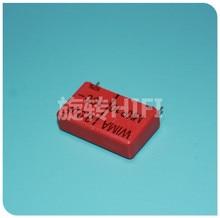 4 Uds rojo WIMA MKP10 8UF 100V p27.5mm original nuevo MKP-10 805/100V de película 805 PCM27.5 gran oferta 8 uf/100 v 8,0 uf