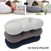 Подушка для шеи с объемным рисунком, креативная подушка для глубокого сна, воздушная подушка для снятия давления, моющаяся наволочка, домаш...