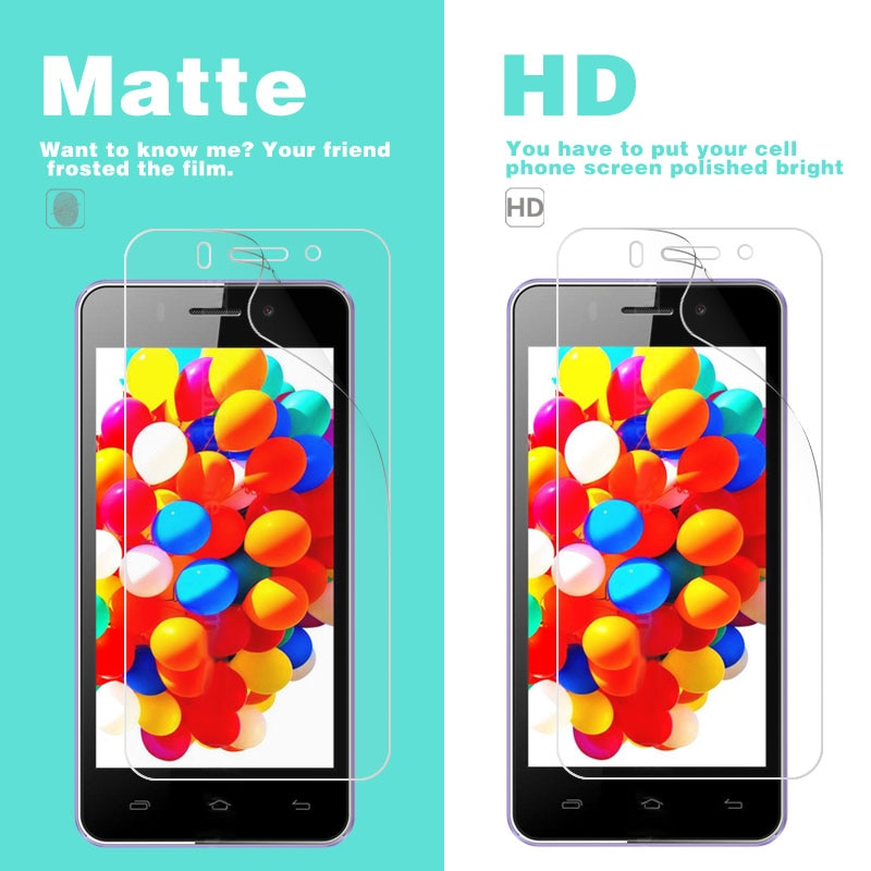 HD Clear Glossy & Matte Film For Doogee S50 Valencia 2 Y100 Plus DG800 X10 X3 X5 X5s X6 Max Mobile Phone Screen Protector Film