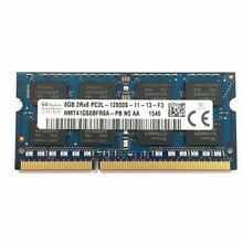 DDR3 RAM 8 GO 2RX8 PC3L-12800S DDR3 1600MHz 1.35V 8GB ORDINATEUR PORTABLE MÉMOIRE ddr3