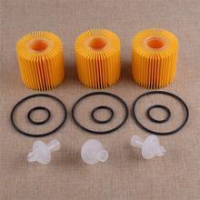 CITALL 3 pièces Kit de filtre à huile pour Toyota Avalon Camry RAV4 Sienna Scion Lexus ES350 GS350 04152-31090