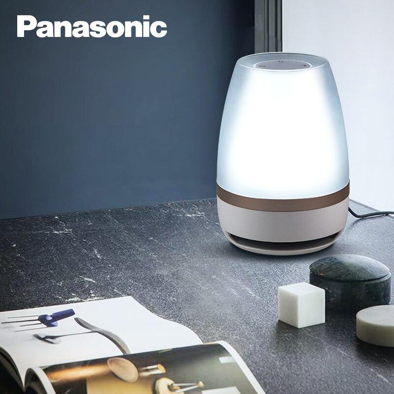 Panasonic Night Light Touch Sensor Bluetooth Speaker Light Remote Control Wireless LED Light Smart Music Table Lamp enlarge