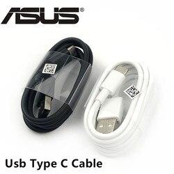 Cabo usb tipo c original, cabo de carregamento rápido para asus zenfone 5 ze620kl 3 zoom zs570kl 5z telefone móvel