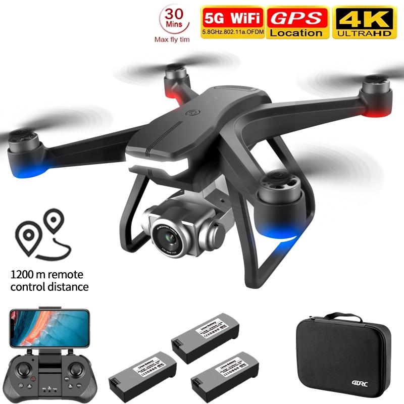 Dron F11 PRO Teledirigido con GPS, 4K Cámara HD
