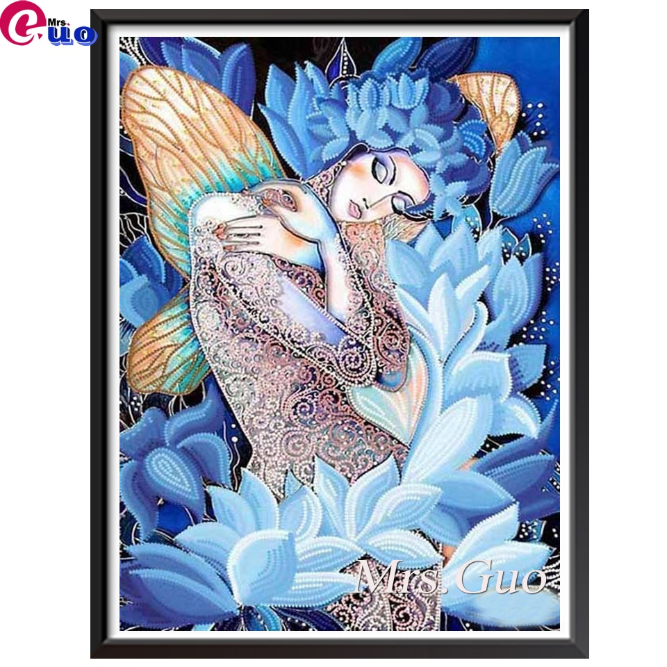Full Square/Round Drill 5D DIY Diamond Painting Abstract Fantasy beautiful fairy 3D Embroidery Cross Stitch Home Decor
