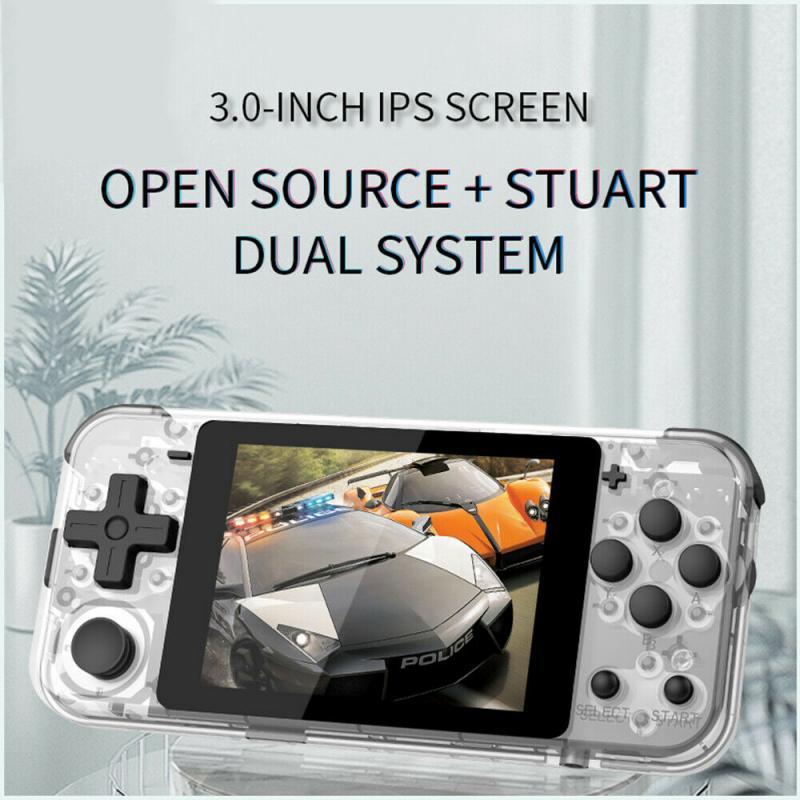 Consola de juegos de balancín retro con pantalla IPS de mano Q90, control flexible ultra LARGA RESISTENCIA adecuado para ergonomía