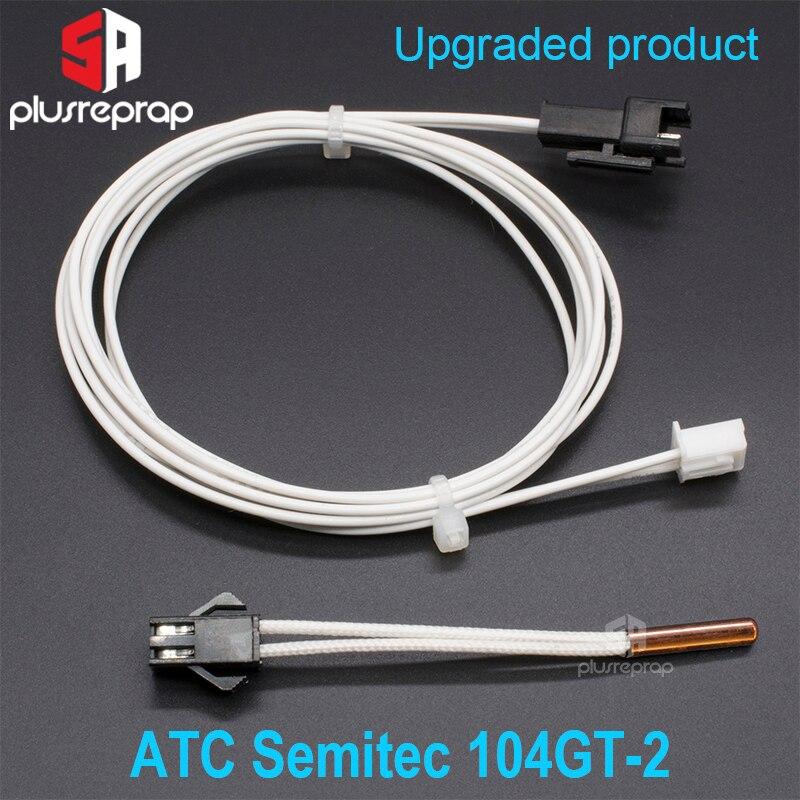 Cartucho termistor ATC Semitec 104GT-2 104NT-4-16C054RT para cartuchos de Sensor Volcano V5 V6, bloque calentador, piezas de impresora 3D