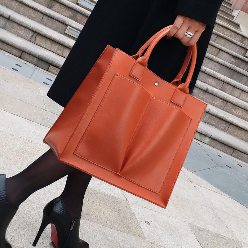 100% حقائب يد جلدية حقيقية 2021 حقيبة محمولة جديدة بسيطة ومتعددة الاستخدامات رسول حقيبة سعة كبيرة المحافظ وحقائب اليد Gg