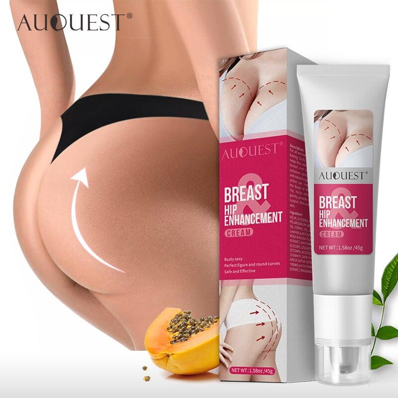 AUQUEST Natural Butt Enhancement Cream Hip Buttock Fast Growth Butt Enhancer Breast Enlargement Body