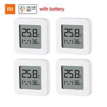 XIAOMI Mijia термометр 2 Bluetooth-совместимый беспроводной умный электрический цифровой гигрометр термометр MI датчик температуры