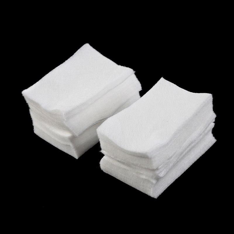 Toallitas de algodón para quitar esmalte de uñas en Gel, 600 Uds., limpiadoras de pelusas, eliminador para poner en remojo, para manicura