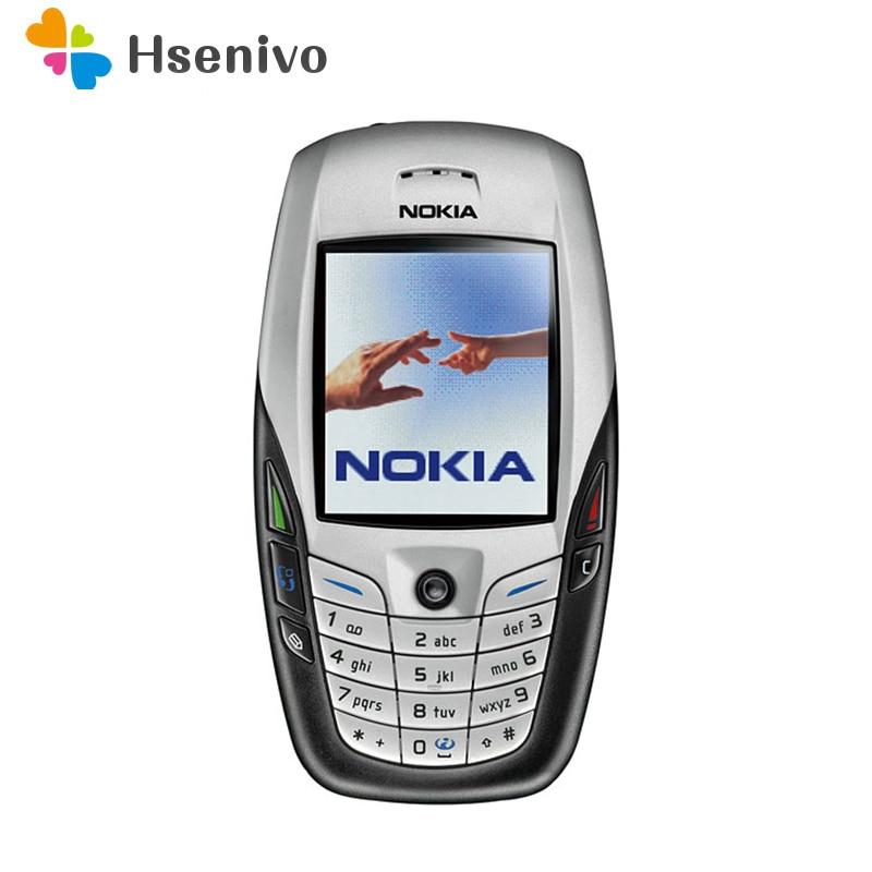 Nokia 6600 refurbished-Original NOKIA 6600 Mobile Phone Bluetooth Camera Unlocked GSM Triband White