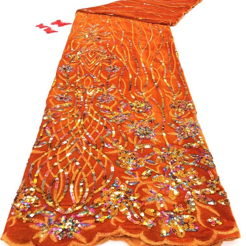 قماش دانتيل مخملي نيجيري مع ترتر ، قماش دانتيل جبر نيجيري ، قماش دانتيل تول أفريقي لفستان الزفاف TS9717