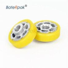 BateRpak bande scellant roue de gaufrage, bande continue scellant pièces rouleau de pression, roue de presse en acier, prix de 2 pièces