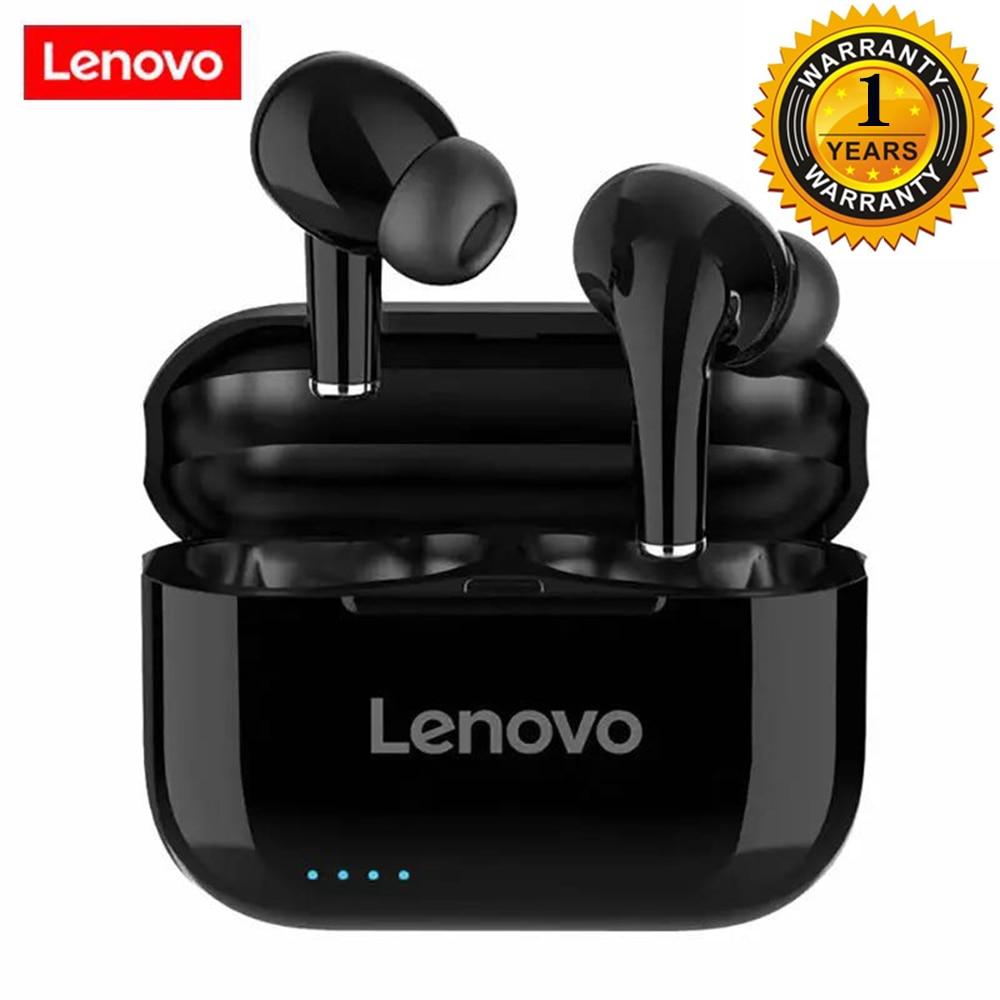 Lenovo lp1s drahtlose kopfhörer bluetooth Kopfhörer tws HiFi Musik Mit Mic Für Android IOS Smartphone