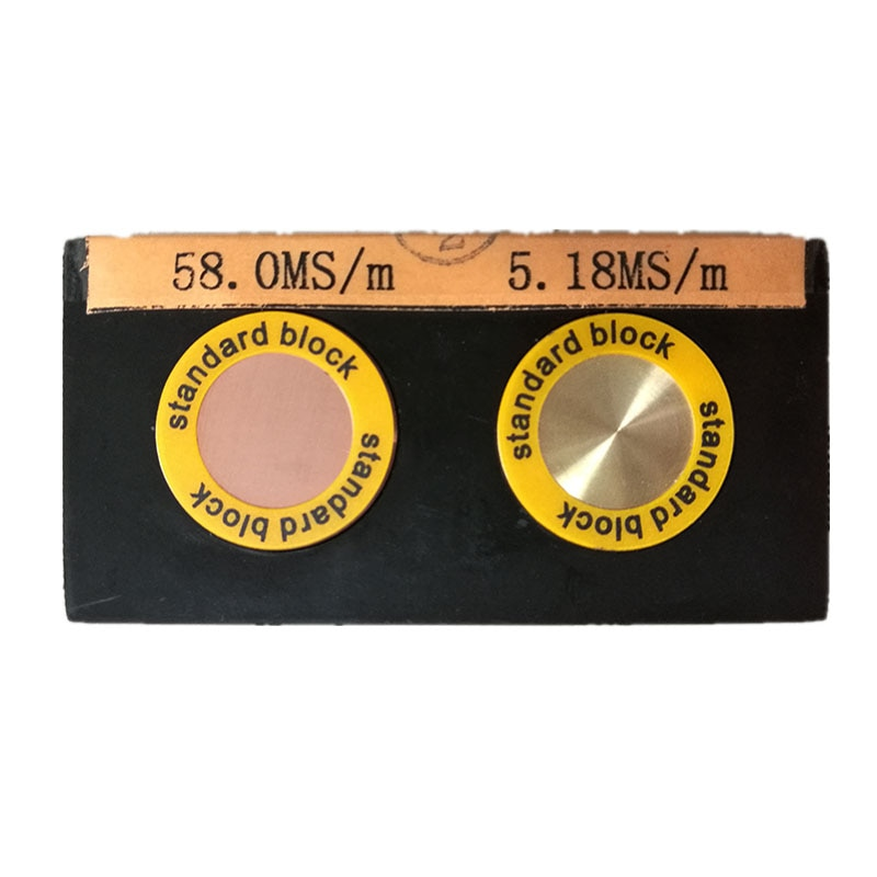 Sigma2008A1 Copper conductivity meter Digital Portable Eddy  Conductivity meter  Al conductivity tester enlarge