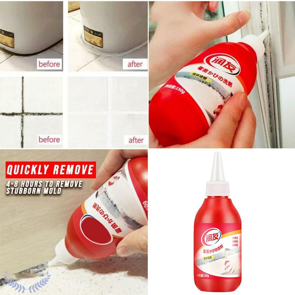 Removedor de moldes antiolor para baño o cocina, potente removedor de moldes, Gel limpiador de fórmula japonés que contiene humedad química Absobers