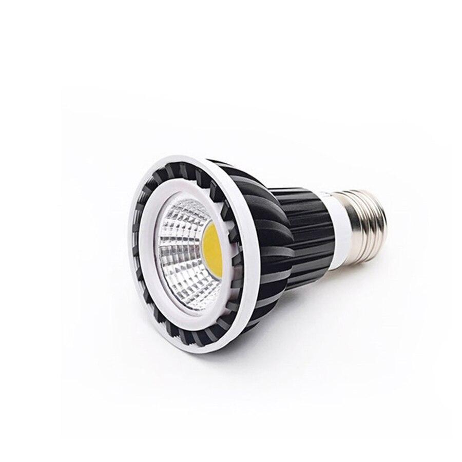 10pcs E27 AC85-265v 4500k Pink Yellow Green Blue Red White 10w Par 20 Led Bulbs Par20 LED Lights Spotlight enlarge