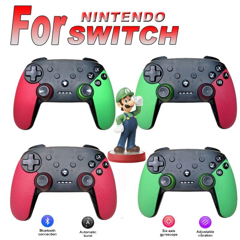 Joystick inalámbrico con controlador Bluetooth NS Pro de alta calidad con NFC para Nintendo Switch, máquina de juego y PC
