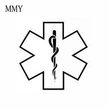 """5 """"نجمة واسعة من الحياة الطبية ملصقا مائي دفتر سيارة خوذة محمول سيارة ملصق الشارات"""
