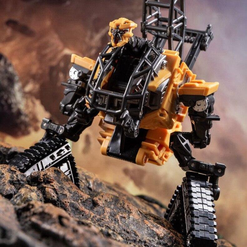 AOYI SS-figura de acción Robot, transformable, Devastator, sobrecarga de gancho, alta torre, en Stock