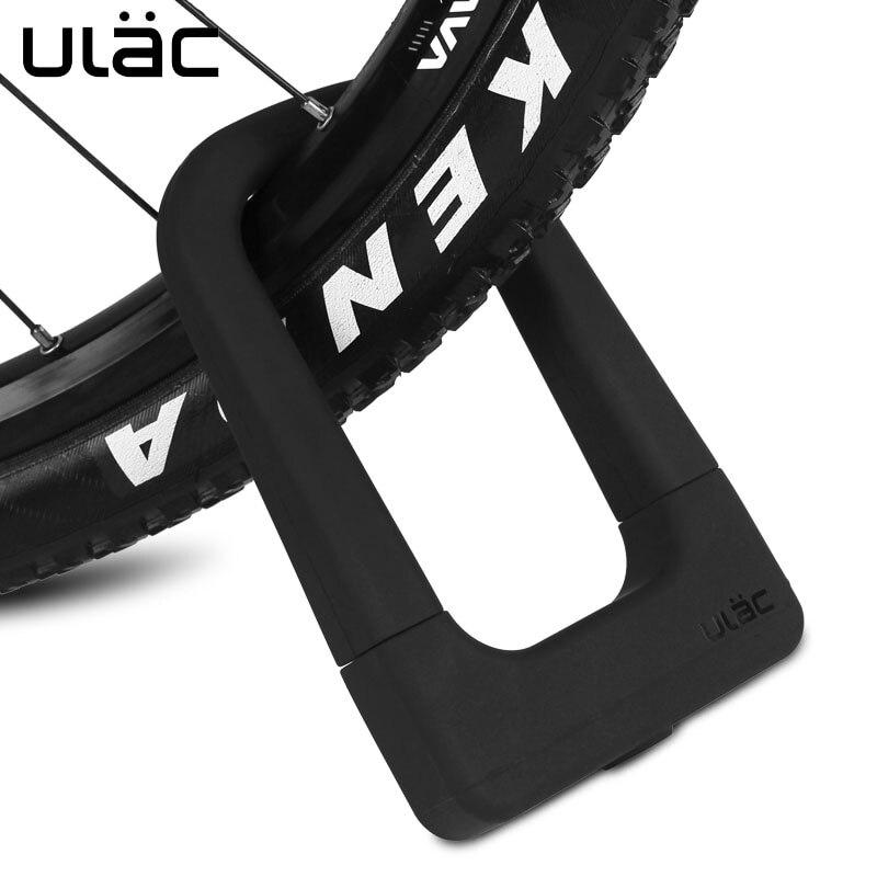 ULAC-candado antirrobo para bicicleta, con 3 Llaves, de aleación de magnesio, fuerte para bicicletas de montaña y de carretera