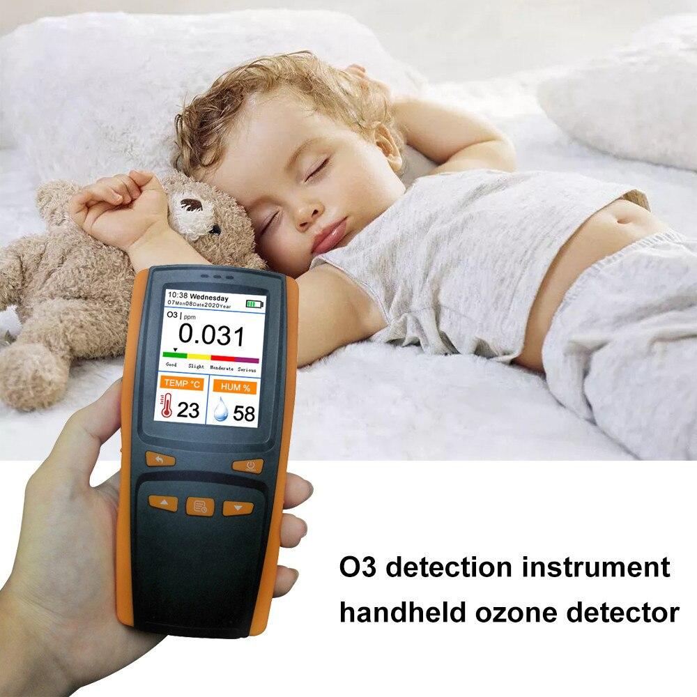 Hand-held Ozone Detector Handheld Portable Ozone Analyzer O3 Ozone Meter Gas Detector Intelligent Sensor Ozone Meter