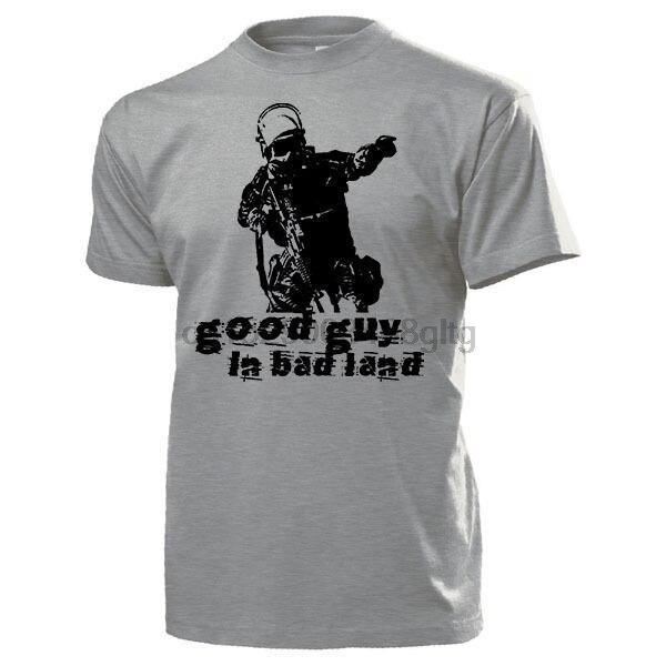 2019 летняя брендовая одежда хороший Guy In Bad Land Polizei анти террор Einheit SEK BW GSG9-футболка новинка футболка