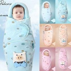 2019 roupa de cama do bebê macio recém-nascido bebê menina do menino algodão swaddle envoltório cobertor dos desenhos animados quente protetor saco dormir