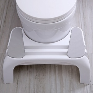 Toilet Stool Foot Stool Thickened Plastic Pregnant Women Toilet Foot Step on Squat Squat Pit Children's Home Step Stool
