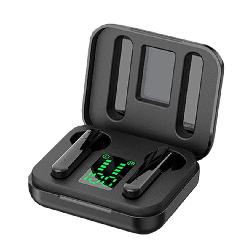 Auriculares estéreo TWS con Bluetooth cascos intrauditivos HD de graves profundos... with......