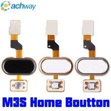 Meizu M3S bouton daccueil empreinte digitale tactile ID capteur Flex câble ruban pièces de rechange clé noir/blanc/or MEIZU M3S mini bouton