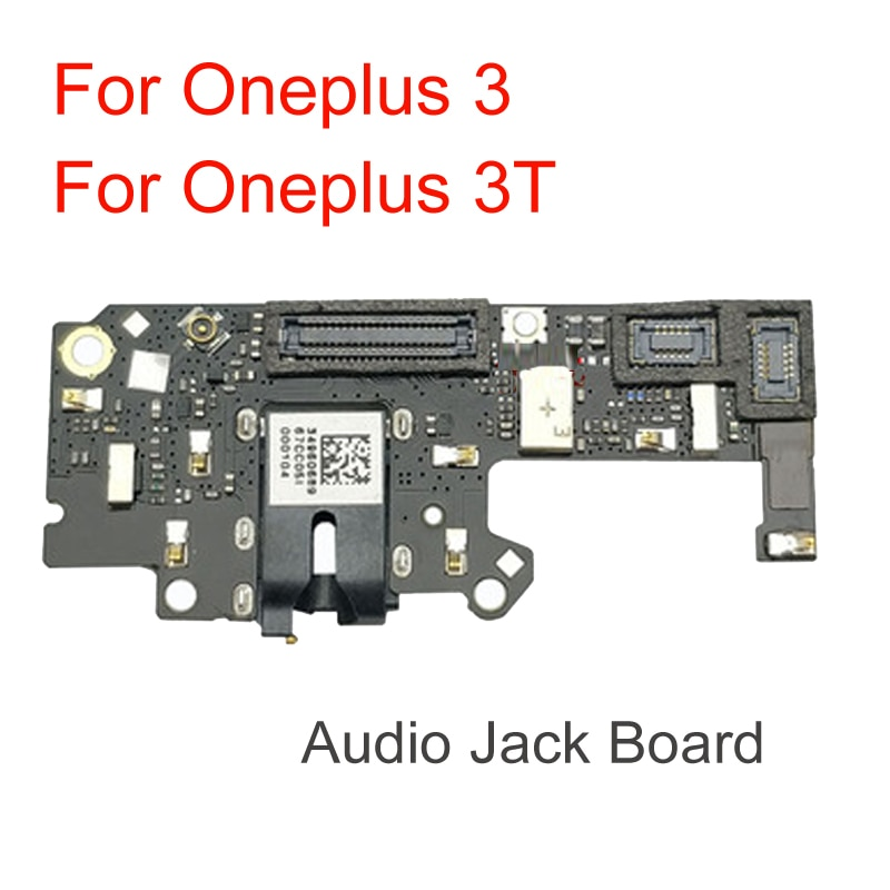 Tested Good Audio Jack Board For Oneplus 1+3 3t Three A3000 A3003 A3010 Earphone & Headphone Port Flex Ribbon Cable Repair Parts