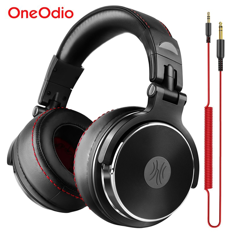 Oneodio Studio Pro DJ наушники с наушниками 50 мм для водителей HIFI гарнитура профессиональный монитор DJ наушники с микрофоном для Xiaomi iPhone