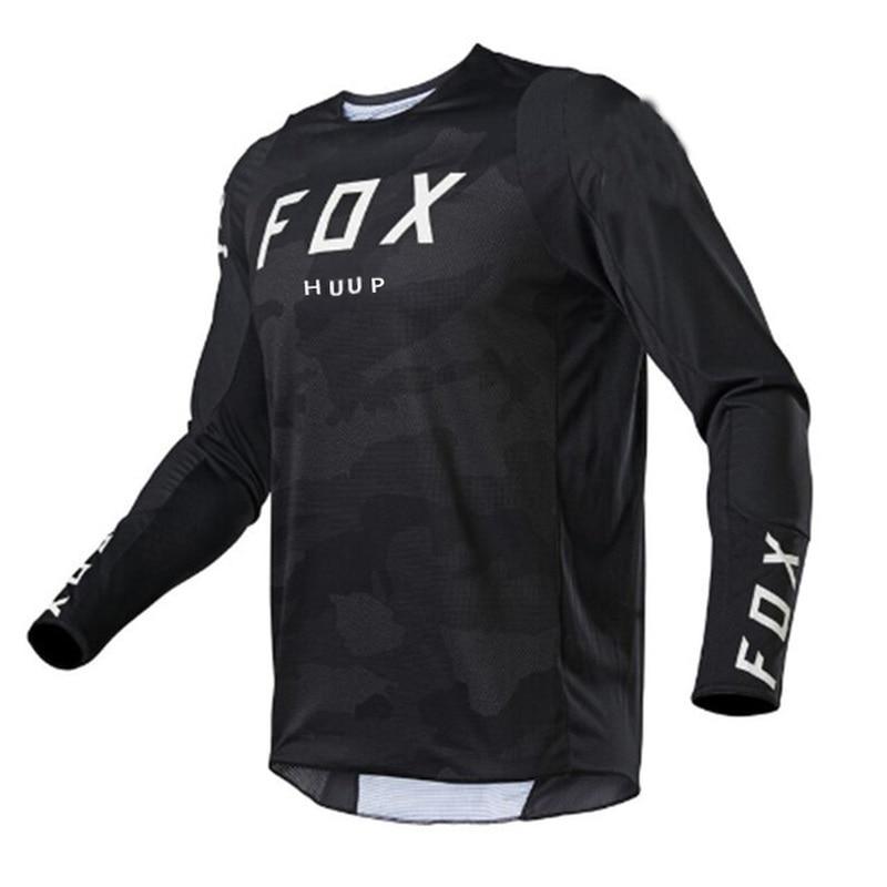 Camiseta larga de manga larga para ciclismo de montana y Motocross para...