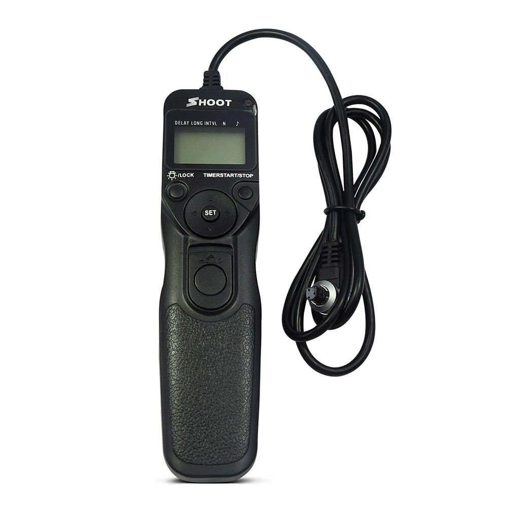 Ajuste para RS-80N3 temporizador disparador Cámara disparador de tiempo Control remoto accesorios de la cámara
