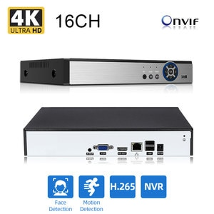 AHCVBIVN Super NVR 8CH Network Recorder Motion Detection CCTV NVR H.264 for 8MP/5MP/4MP/2MP IP Camera support eSATA/TF/USB
