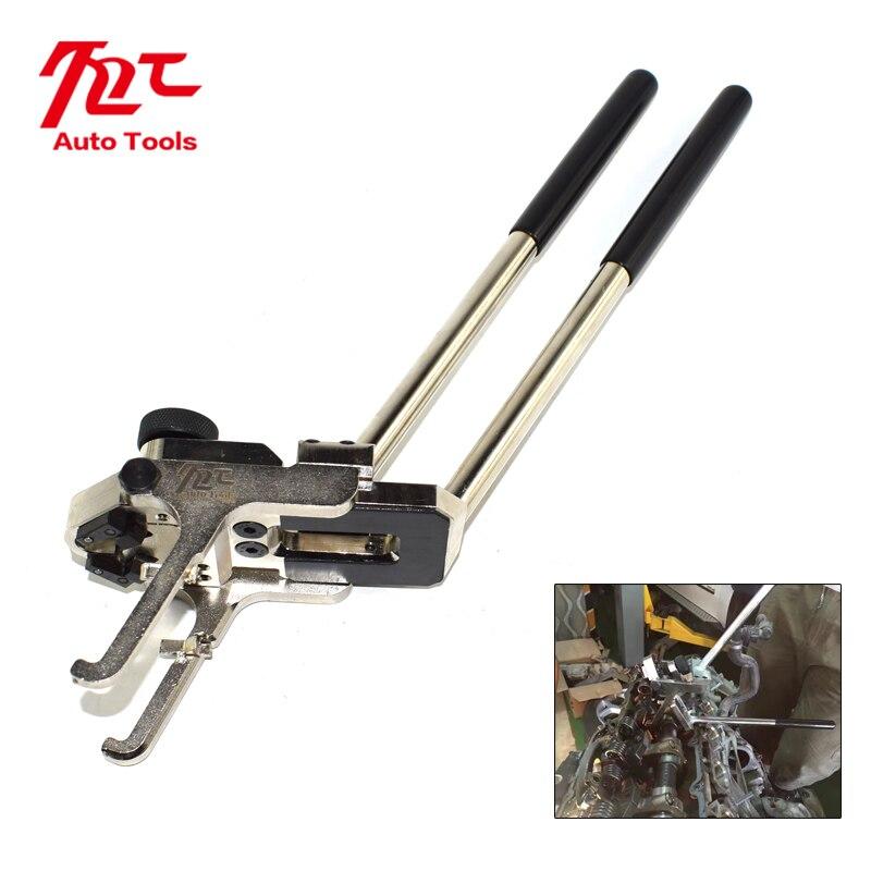 jtc набор фиксаторов распредвала для установки и регулировки фаз грм bmw n51 n52 n53 n54 oem bmw 114280 oem bmw 114290 vanos n51 n52 n55 jtc 4619ab High Quality Valve Pressure Spring Installer and Remover Tool Plier For BMW N20 N26 N52 N55 Engine Professional Timing Tool