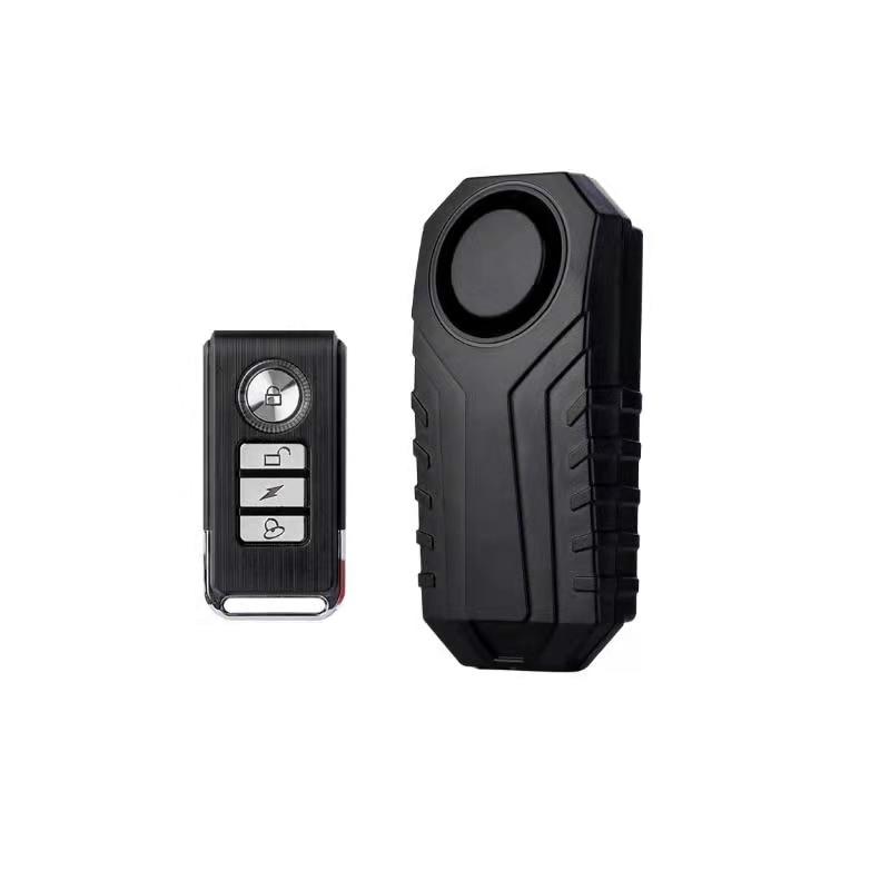 Electric remote control waterproof dustproof bicycle motorcycle car security alarm detector sensor