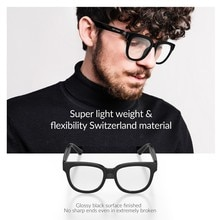 Professional Smart Glasses With Wireless Bluetooth Hands-free Calls Audio Open Ear Light Lenses Anti