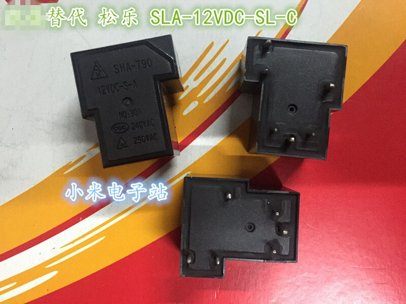 SHA-T90 12VDC-S-A-T-relay 6-دبوس تحويل SLA-12VDC-SL-C