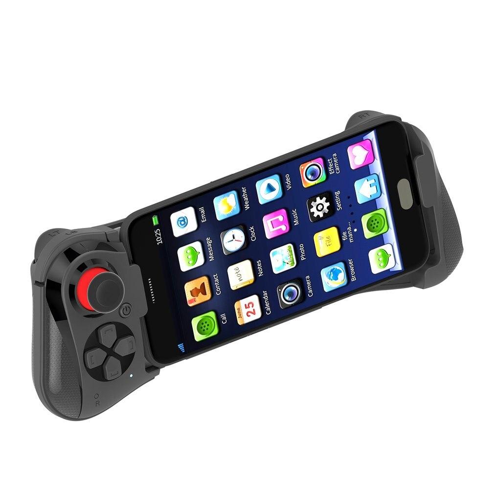 Mocute 058 juego inalámbrico Pad Bluetooth Android Joystick VR telescópica controlador de juego Gamepad PUBG móvil Joypad para Iphone
