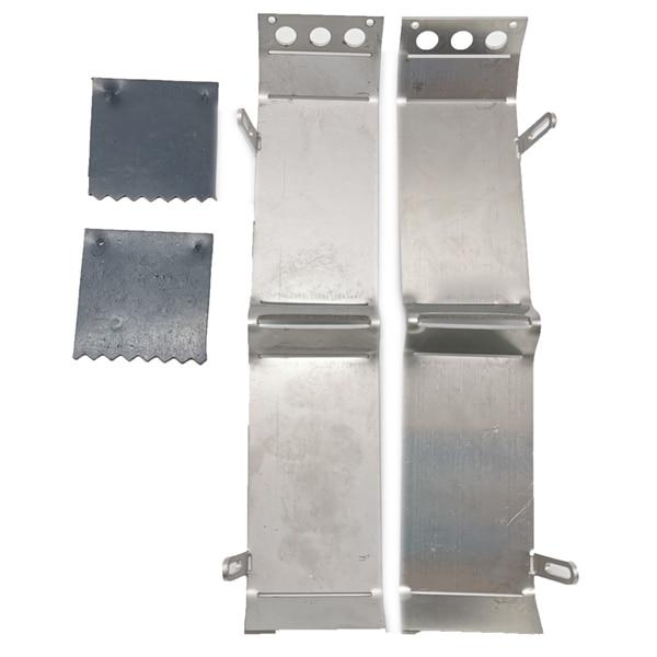 De Metal guardabarros trasero de vuelta guardabarros para 1/16 WPL B16 B36 6WD Q60 Q63 Q64 RC coche camión piezas de mejora