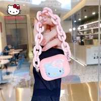hello kitty is suitable for apple airpods 12 generation airpods pro bluetooth compatible earphone protective shell