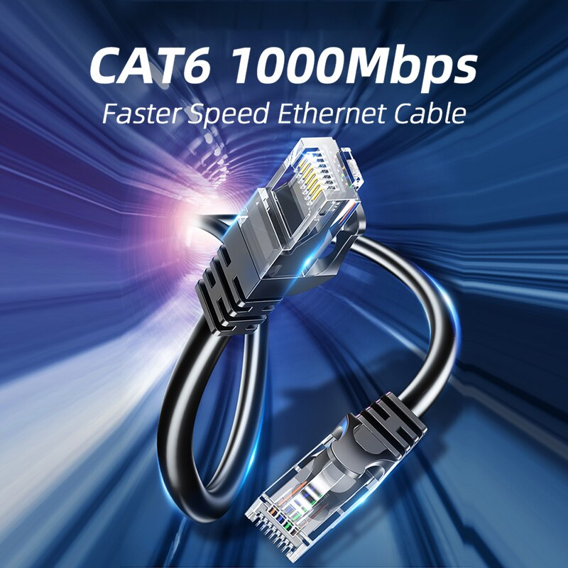 Essager Cable Ethernet Cat6 Lan Cable UTP CAT 6 Cable de red...