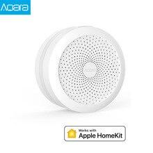 Оригинальный Aqara концентратор шлюз RGB светодиодный ночной Светильник умная работа с Apple Homekit aqara App для mihome app