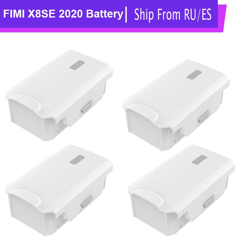 FIMI X8 SE 2020 Drone Battery 4500mAh 35mins Quadcopter Intelligent Flight Batteries Accessories For RC Helicopter